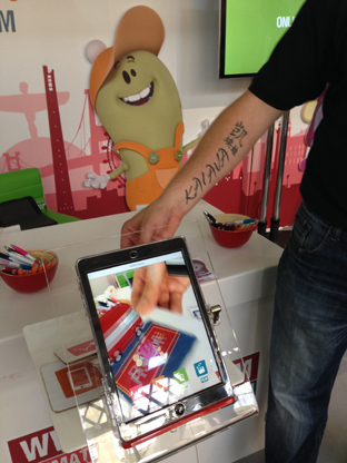Our friends @rjdmstudios are at #MWL2014 Catch some great animated augmented reality innovation over at stand A224