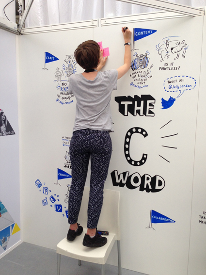 Fun with The C word – Content! at Marketing Week Live from Jelly London