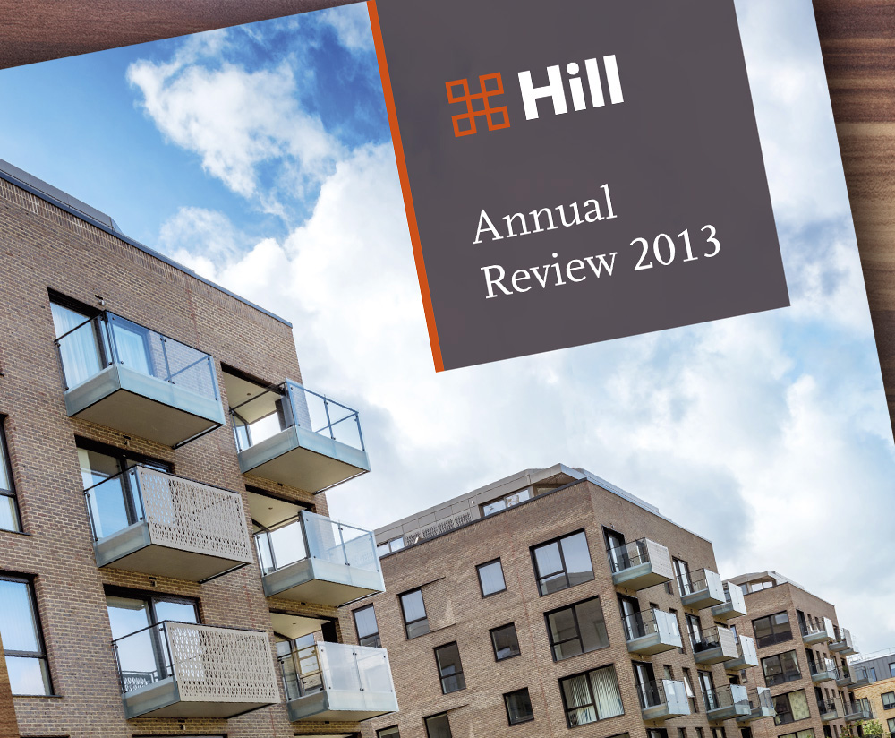Hill annual review, menu image