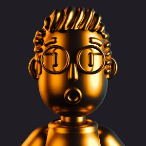 Cinema 4D Gold man