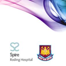 Latest design work : Spire Roding Hospital & West Ham United Football Club
