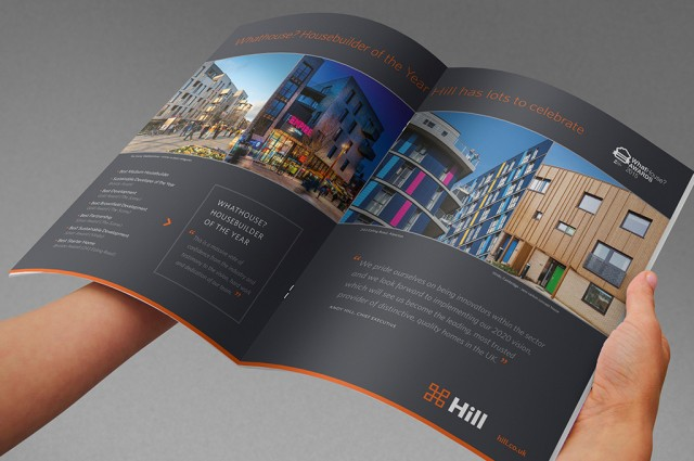 Hill WhatHouse? Awards 2015 print advert, designed by Gosling