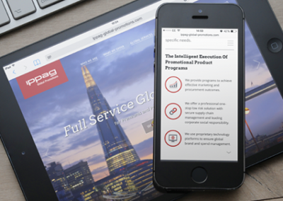 IPAAG Global Promotions | Responsive website and animation