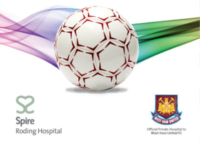 Spire Roding Hospital | Integrated dual brand campaign